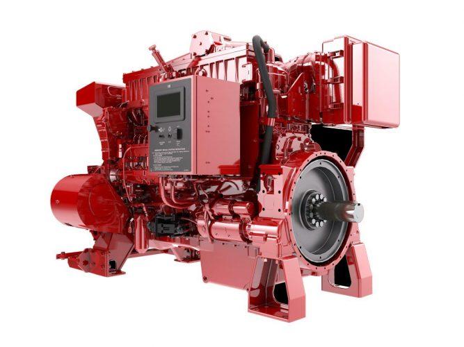 3406 Fire Pump Driver