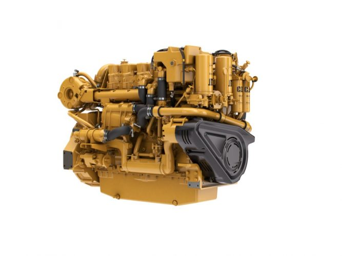 C18 Auxiliary/Generator Set Engine
