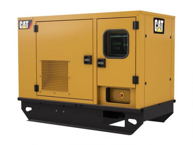 16.5kVA Cat C2.2 GENSET DE16SPE3 (Single Phase)