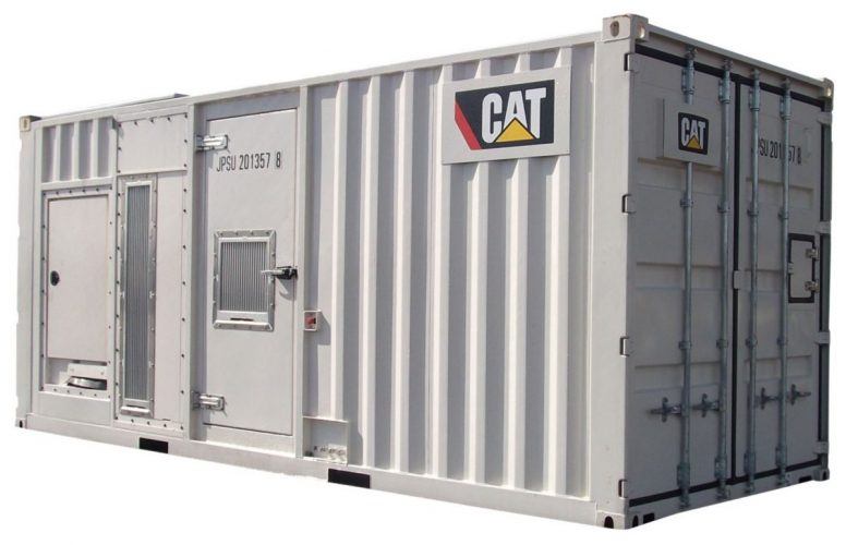 1000 kVA Silenced Diesel Generator