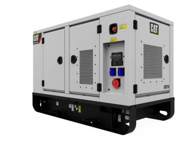 150 kVA Silenced Diesel Generator