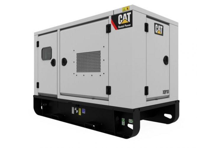 250 kVA Silenced Diesel Generator
