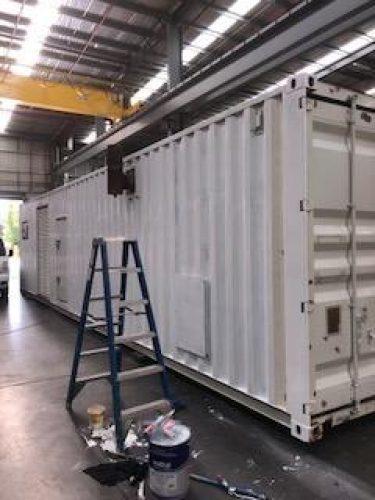 3512B CAT REBUILD ENCLOSED GENERATOR - UA576