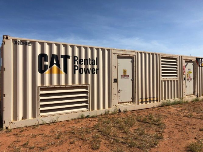 2000KVA USED SOUND ATTENUATED GENERATOR PACKAGE - UA961