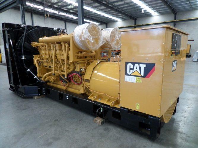 3512B CAT REBUILD GENERATOR - UA576