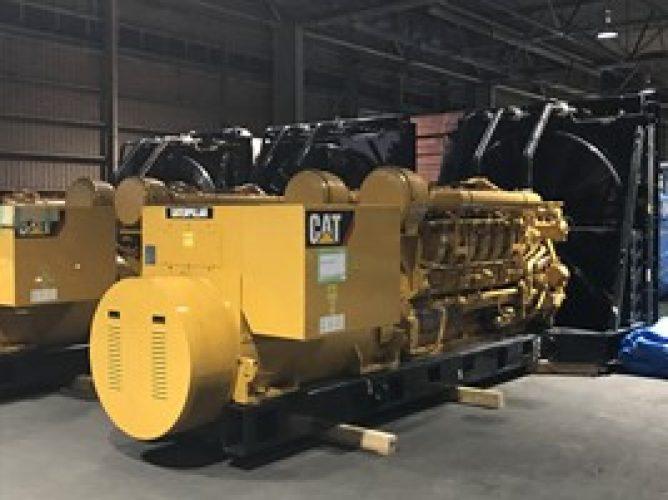 Cat 3516 2000kVA 6.6kV 60 HZ OPEN GENERATOR - ZERO HOUR - UA808