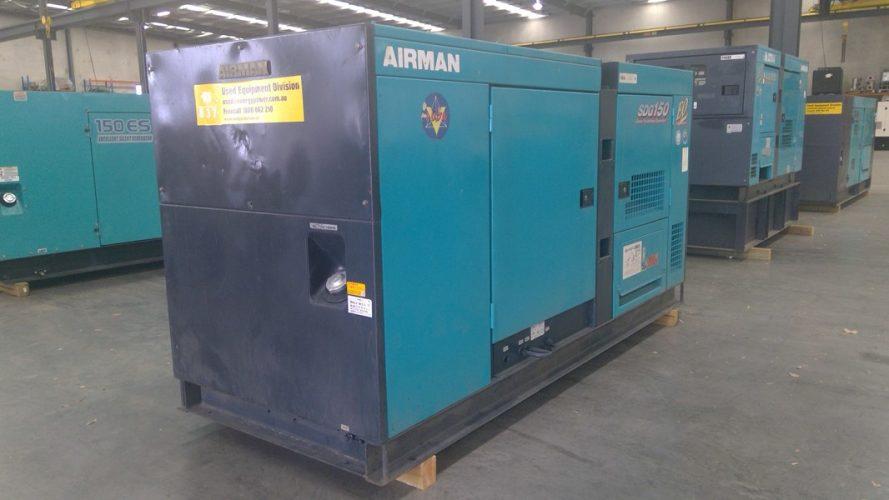125KVA USED AIRMAN DIESEL GENERATOR - UA837