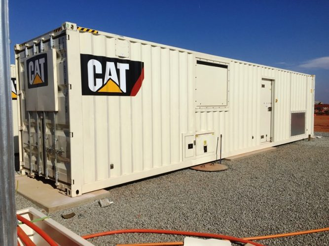 2000KVA SOUND ATTENUATED GENERATOR PACKAGE - UA923