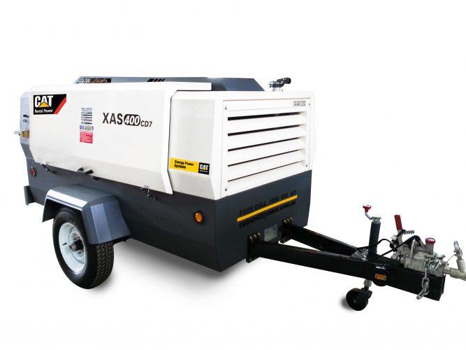 425 cfm Oil Injected Diesel Compressor