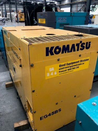 37KVA USED KOMATSU DIESEL GENERATOR - UA846