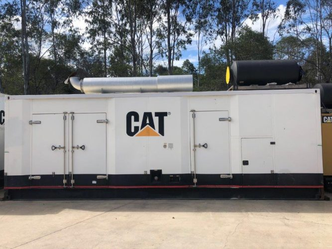 1000KVA USED SOUND ATTENUATED GENERATOR PACKAGE - UA890