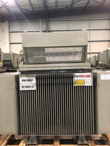 NEWLY OEM REFURBISHED 2500KVA 11KV/415V TRANSFORMER - UA1027