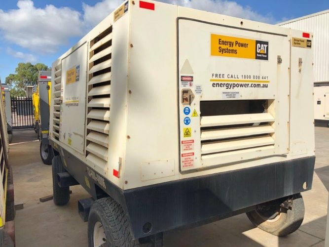 600 cfm USED SULLAIR DIESEL COMPRESSOR - UA140